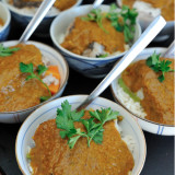 Butternut Curry with Rice