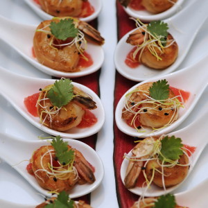 canapes dish food social
