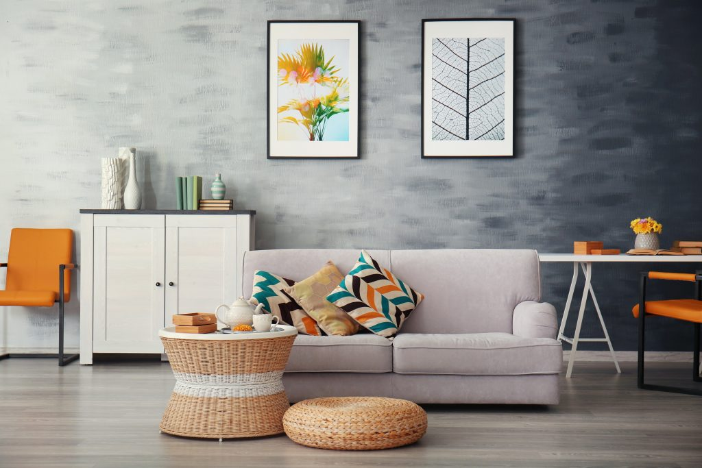 A clean living room, thanks to this SweepSouth & Dish Promotion